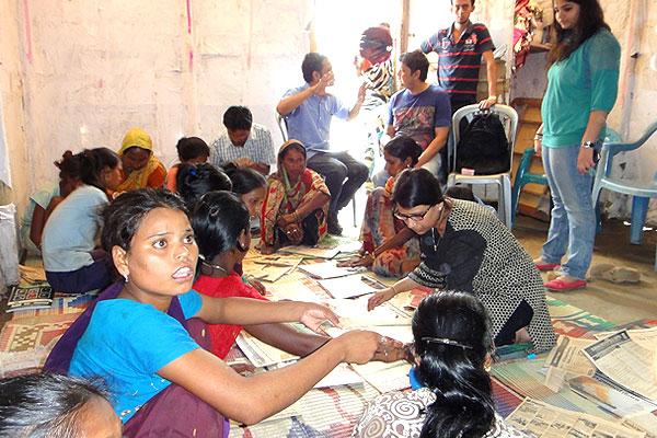Enhancing Life Skills, Hafiznagar Slum area of Bamunimaidan, Guwahati - FICCI FLO